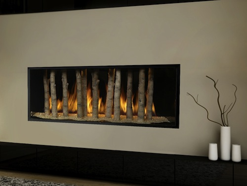 gas fireplace, fireplace, gas efficiency